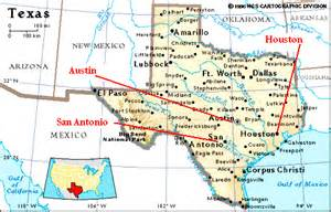 map of texas cities near texas state map clipart 24
