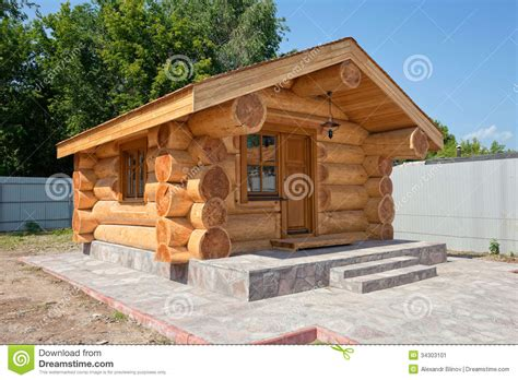 Small Cabins Plans new wooden house stock image image 34303101