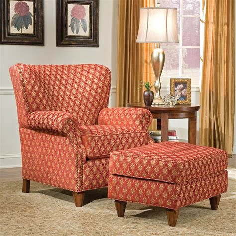 fairfield chair and ottoman fairfield 1403 traditional chair and ottoman olinde s