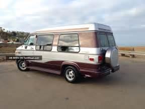 1995 chevy g20 conversion van interior