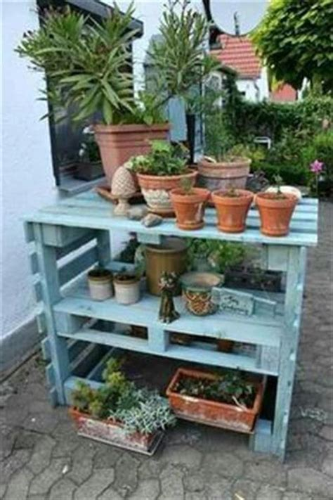 diy pallet plant stand awesome ideas pallets designs