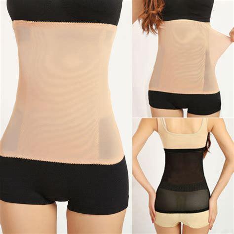 Shapers Korset Senam Slim Waist shaper invisible tummy trimmer waist cincher girdle