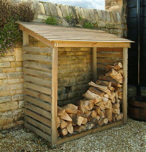 wooden log store garden trading neat ideas