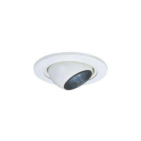 Eyeball Lighting Fixtures Sea Gull Lighting 1236at 15 4 Inch Eyeball Recessed Light Fixture Trim White Ebay