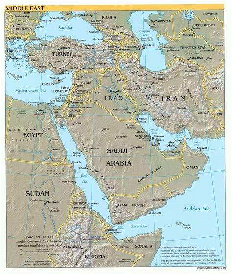 middle east map geographical east 17 junglekey fr image 100