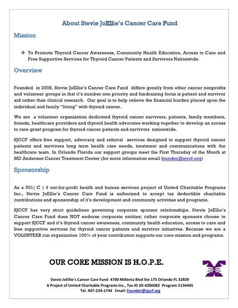 Sponsorship Letter For Fair 2011 Health Fair Sponsorship