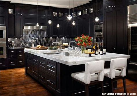 dream kitchen black new house ideas pinterest