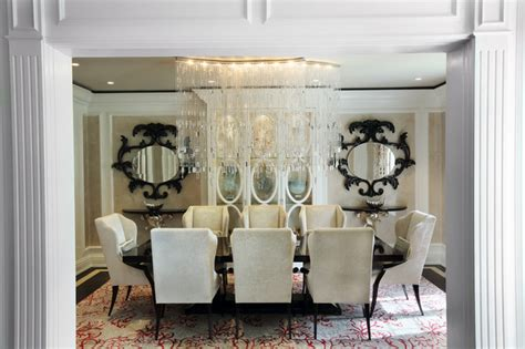Glam Dining Room Sets Contemporary Glam Dining Room