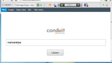 how to remove search and protect by conduit
