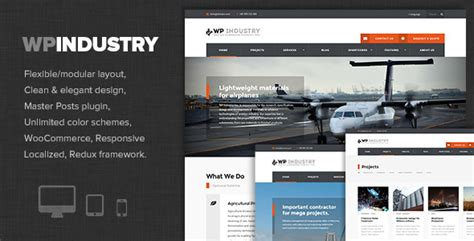 themeforest industrial wp industry industrial engineering wp theme by dannci