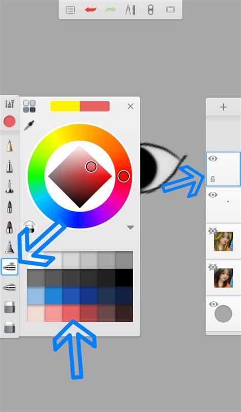 tutorial smudge menggunakan sketchbook tutorial mata smudge painting autodesk sketchbook