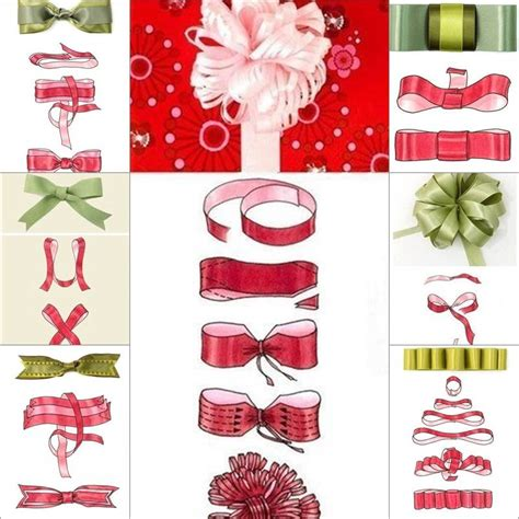 how to tie a christmas bow with ribbon how to tie a diy ribbon bow for gift packaging