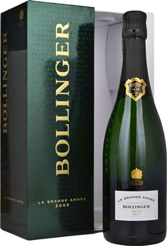 bollinger quot la grande annee quot brut chagne 2005 gift box