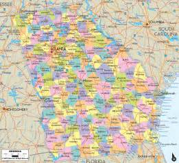 map of america states and cities political map of ezilon maps