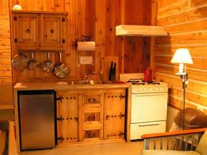 Cabin Kitchen Cabinets Tiny Cabin Kitchen Kitchen Maximizes The Available