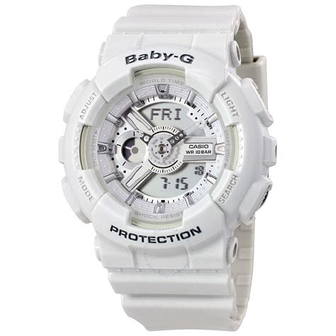 Baby G For Ladys casio baby g analog digital ba110 7a3cr