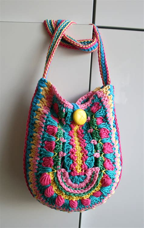 crochet pattern for boho bag boho bag crochet pattern allcrochetpatterns net