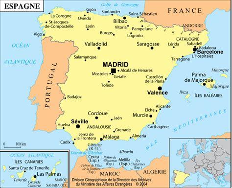 Espagne Informations, carte, location maison vacances Espagne, hôtel Espagne, séjour Espagne