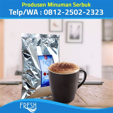 Minuman Coffee Toffee supplier bubuk minuman coklat jakarta fresh powder