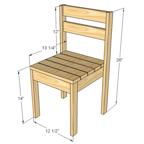 simple desk chair plans white build a four dollar stackable children s
