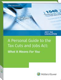 u s master estate and gift tax guide 2018 books a personal guide to the tax cuts and act what it