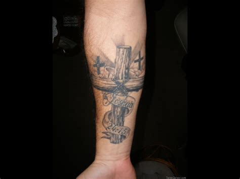 jesus cross tattoos for men 35 religious wrist tattoos for