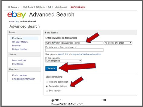 Search On Ebay Make More Money By Listing On Ebay The Right Way