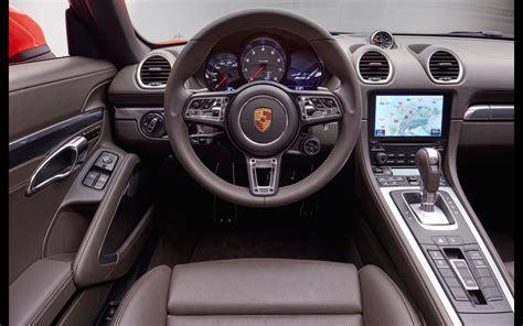 2016 Porsche 718 Boxster Interior 9 1680x1050