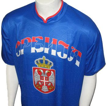 Sebia Jersey Blue Lilac serbian supporter jersey blue small serbian shop