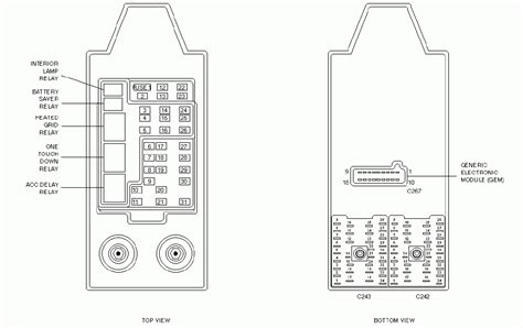 2000 ford expedition fuse panel diagram 2001 ford expedition eddie bauer fuse box diagram fuse