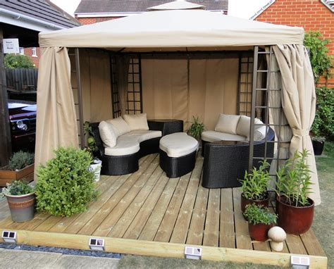 Patio Deck Kit by Timber Deck Kit 4m Boards X 2 2m 13 2 X 7 3 Wooden Garden