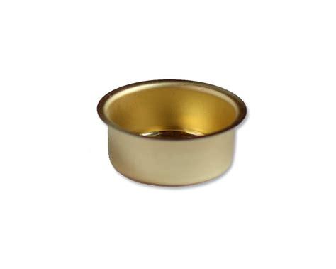 teelichthalter metall blecheinsatz teelichter messing metall 216 40mm h 18mm