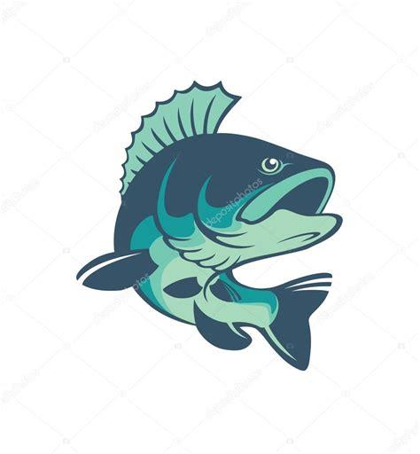 imagenes logo jpg 鲈鱼鱼徽标 图库矢量图像 169 kvasay 117801958
