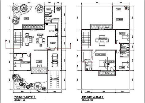 layout rumah luas tanah 90 denah rumah minimalis 2 lantai nulis