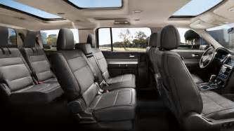 Ford Flex Seating Spacious And Powerful 2014 Ford Flex Will Be Available In