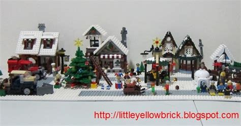 Post Office 10199 by Yellow Brick A Lego Our Lego Winter