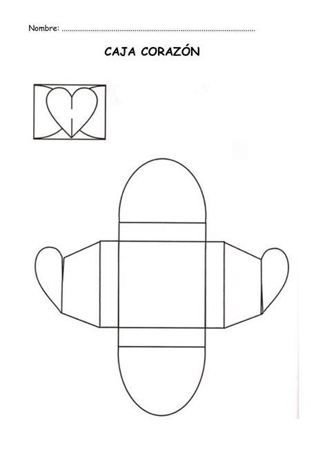 cajita en forma de corazn cajita con coraz 243 n para moldes de cajas con forma de coraz 243 n imagui