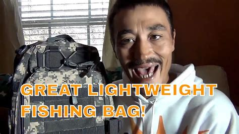 best sling bag 40 dollars lightweight product review fishing tackle backpack