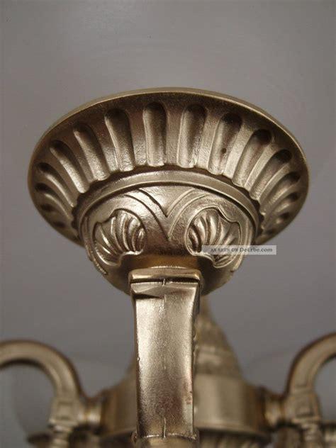 antike leuchten len alte antike messing deckenle milchglasschalen jugendstil
