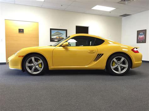 F S Porsche Cayman S Yellow Rennlist Porsche