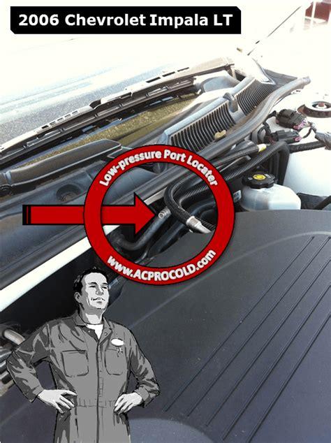 automobile air conditioning service 2002 chevrolet impala user handbook 2006 chevrolet impala ac pro