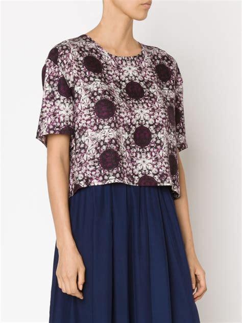 Blouse Batik Pink Kombinasi lyst piamita batik print blouse in pink