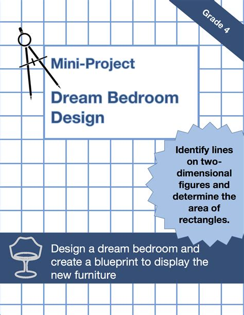 design a dream bedroom math project 4 md 3 word problems with area and perimeter math