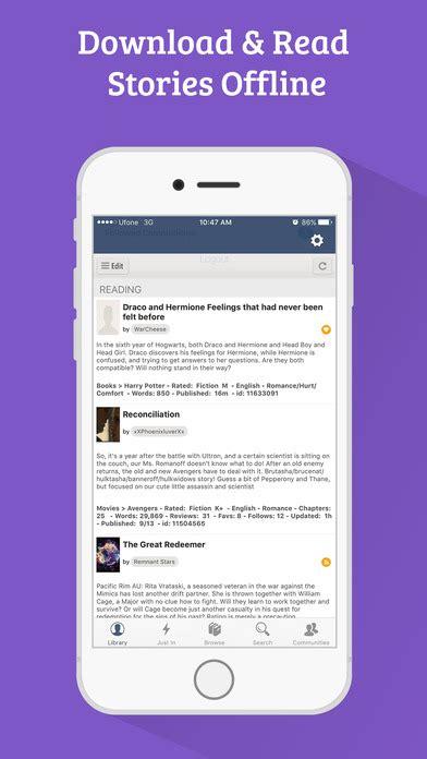 mobile fanfiction fanfiction 300 000 books for fiction readers app