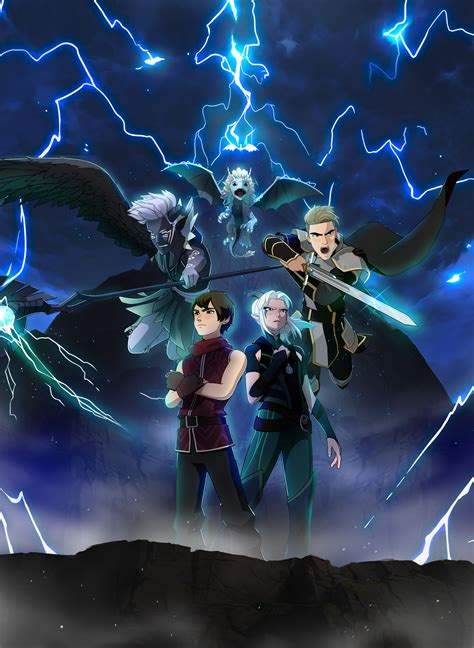 dragon prince season  key art  dragon prince