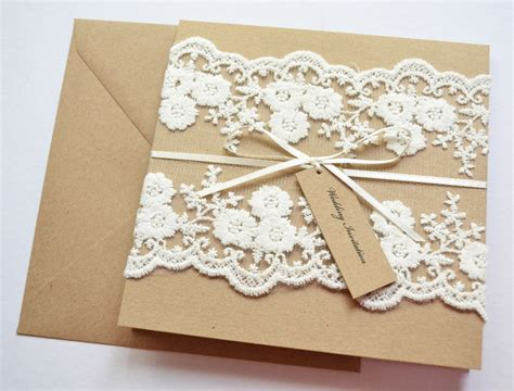 handmade wedding invitations 21 designs that every will adore hitched co uk - Wedding Invitations Made