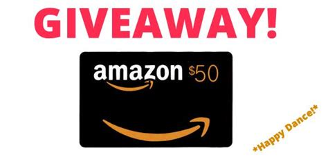 Amazon Gift Card Pin - 50 amazon gift card giveaway