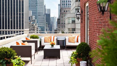 nyc hotel with balcony terrace suite the benjamin new york hotel room with balcony omni berkshire place