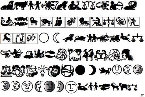 font natal identifont linotype astrology pi 2