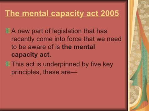 section 4 mental capacity act mental capacity act section 6 mental capacity act section